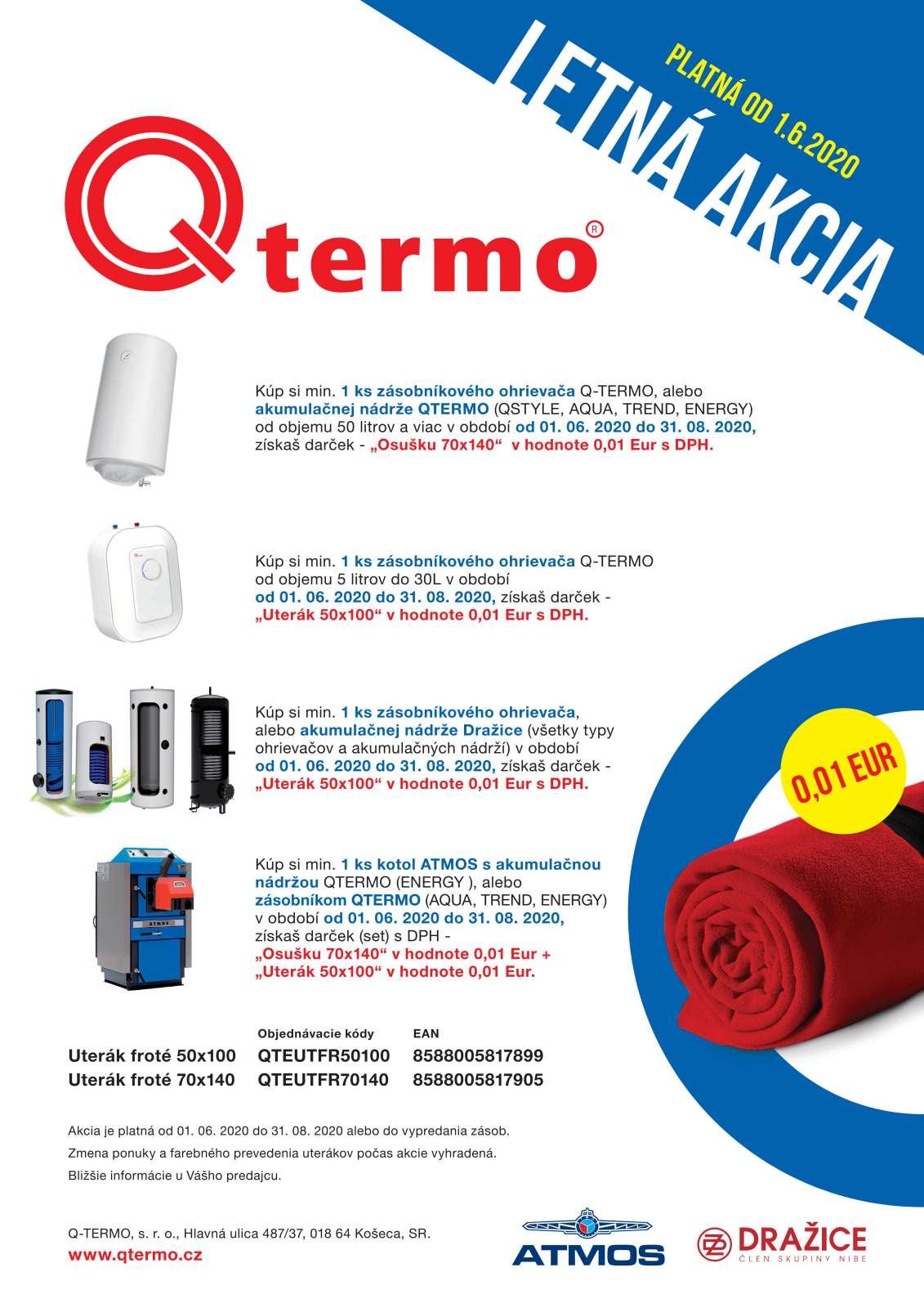 Letná akcia QTERMO SR